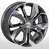 Автомобильный колесный диск R17 5*114,3 ZW-BK5168 GP (Nissan, Renault) - W7.0 Et40 D66.1