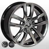 Автомобильный колесный диск R17 5*112 ZW-BK5182 HB (Audi, Skoda, VW) - W7.5 Et45 D57.1