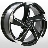 Автомобильный колесный диск R17 5*112 ZW-BK5185 BP (Audi, Skoda, VW, MB) - W7.5 Et35 D66.6