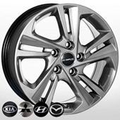Автомобильный колесный диск R16 5*114,3 ZW-BK5210 HB - W6.5 Et45 D67.1