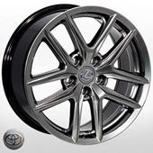 Автомобильный колесный диск R17 5*114,3 ZW-BK5221 HB (Lexus, Toyota) - W7.5 Et35 D60.1