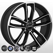 Автомобильный колесный диск R18 5*112 ZW-BK5232 MattBP (Audi, BMW) - W8.0 Et42 D66.6