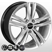 Автомобильный колесный диск R16 5*100 ZW-BK5293 HS - W7.0 Et41 D57.1