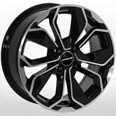 Автомобильный колесный диск R14 4*100 ZW-BK5296 BP - W5.5 Et40 D67.1
