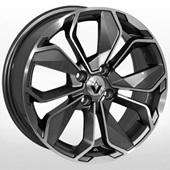 Автомобильный колесный диск R16 4*100 ZW-BK5296 GP (Renault) - W6.5 Et38 D60.1