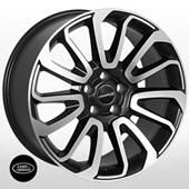 Автомобильный колесный диск R20 5*120 ZW-BK5321 MtBP (Land Rover) - W9.5 Et50 D72.6