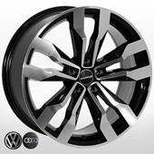 Автомобильный колесный диск R20 5*112 ZW-BK5333 BP - W8.5 Et33 D66.6