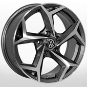 Автомобильный колесный диск R16 5*112 ZW-BK5340 GP (Skoda, Seat, VW) - W6.5 Et40 D57.1