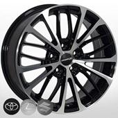 Автомобильный колесный диск R17 5*114,3 ZW-BK5343 BP (Toyota, Suzuki) - W7.0 Et40 D60.1