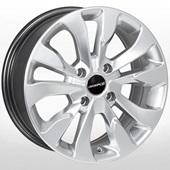 Автомобильный колесный диск R16 4*114,3 ZW-BK5346 HS - W7.0 Et40 D67.1