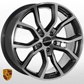 Автомобильный колесный диск R21 5*130 ZW-BK5362 GMF (Porsche) - W9.5 Et50 D71.6