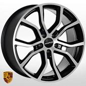 Автомобильный колесный диск R21 5*130 ZW-BK5362 MBMF (Porsche) - W9.5 Et50 D71.6