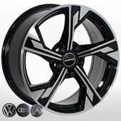 Автомобильный колесный диск R17 5*112 ZW-BK5419 BP - W7.5 Et35 D66.6