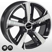 Автомобильный колесный диск R16 4*108 PG-5514 BP (Citroen, Peugeot) - W7.0 Et25 D65.1