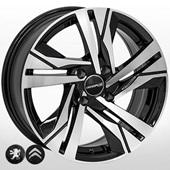 Автомобильный колесный диск R16 4*108 ZW-BK5543 BP (Peugeot, Citroen) - W7.0 Et25 D65.1