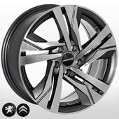 Автомобильный колесный диск R16 5*108 ZW-BK5543 GP (Peugeot, Citroen) - W7.0 Et45 D65.1