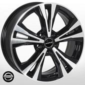Автомобильный колесный диск R18 5*114,3 NS-5594 BP (Nissan) - W7.0 Et35 D66.1