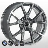 Автомобильный колесный диск R18 5*112 ZW-BK5601 GP - W8.0 Et25 D66.6