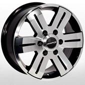 Автомобильный колесный диск R16 6*125 BK562 BP (Iveco Daily 2014-) - W7.0 Et60 D74.1