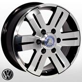 Автомобильный колесный диск R16 6*130 MB-562 BP (Mercedes, VW) - W7.0 Et60 D84.1