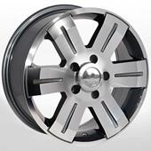 Автомобильный колесный диск R16 5*130 ZW-BK562 GP (Renault) - W7.0 Et60 D89.1