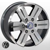 Автомобильный колесный диск R16 6*130 ZW-BK562 GP (Mercedes, VW) - W7.0 Et60 D84.1
