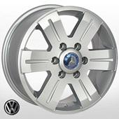 Автомобильный колесный диск R16 6*130 ZW-BK562 S (Mercedes, VW) - W7.0 Et60 D84.1