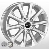 Автомобильный колесный диск R16 5*114,3 ZW-BK581 S (Toyota, Suzuki) - W6.5 Et40 D60.1