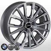 Автомобильный колесный диск R20 5*112 B-5836 GP - W8.5 Et25 D66.6