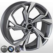 Автомобильный колесный диск R19 5*112 A-5893 GP (Audi, MB, BMW) - W8.0 Et35 D66.6