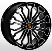 Автомобильный колесный диск R20 5*130 ZW-BK601 BP (Porsche) - W9.0 Et48 D71.6