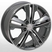 Автомобильный колесный диск R17 5*114,3 ZW-BK637 GP - W7.0 Et35 D67.1