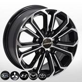 Автомобильный колесный диск R15 5*114,3 ZW-BK667 BP (Toyota) - W6.5 Et40 D60.1