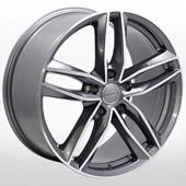 Автомобильный колесный диск R17 5*112 ZW-BK690 GP (Audi, Mercedes) - W7.5 Et42 D66.6