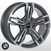 Автомобильный колесный диск R17 5*120 ZW-BK707 DGMF (BMW) - W8.0 Et30 D72.6