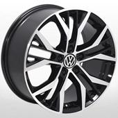 Автомобильный колесный диск R17 5*112 ZW-BK713 BP (Audi, Skoda, VW) - W7.5 Et45 D57.1