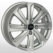 Автомобильный колесный диск R15 4*100 ZW-BK736 S (Kia, Hyundai, Toyota) - W5.5 Et45 D54.1