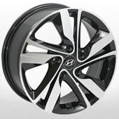 Автомобильный колесный диск R16 5*114,3 ZW-BK813 BP (Hyundai) - W6.5 Et50 D67.1