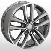 Автомобильный колесный диск R17 5*114,3 ZW-BK846 GP - W7.0 Et45 D67.1