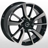 Автомобильный колесный диск R16 5*114,3 ZW-BK853 BP (Renault, Nissan) - W7.0 Et35 D66.1