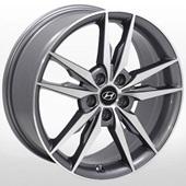 Автомобильный колесный диск R17 5*114,3 ZW-BK862 GP - W7.0 Et45 D67.1