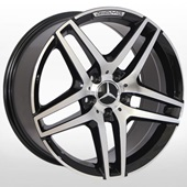 Автомобильный колесный диск R19 5*112 ZW-BK967 BP (Mercedes) - W8.5 Et45 D66.6
