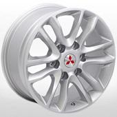 Автомобильный колесный диск R17 6*139,7 ZW-D017 S (Mitsubishi) - W7.5 Et35 D67.1