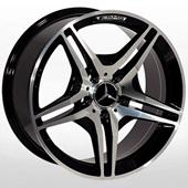 Автомобильный колесный диск R17 5*112 ZW-D5009 MB-Black Cap (Mercedes) - W8.0 Et35 D66.6