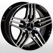 Автомобильный колесный диск R15 5*112 ZW-D5012 MB-Black Cap (Mercedes) - W6.5 Et25 D66.6