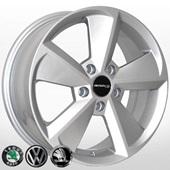 Автомобильный колесный диск R16 5*112 ZW-D5113 S (Audi, Skoda, VW) - W6.5 Et50 D57.1