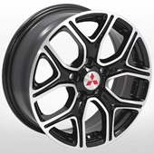 Автомобильный колесный диск R16 5*114,3 ZW-D5133 MB - W6.5 Et38 D67.1