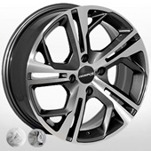 Автомобильный колесный диск R15 4*108 ZW-5255 MGRA (Peugeot, Citroen) - W6.5 Et18 D65.1
