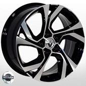 Автомобильный колесный диск R16 5*114,3 ZW-D5229 MB (Nissan, Renault) - W7.0 Et40 D66.1