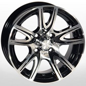 Автомобильный колесный диск R13 4*98 ZW-D584 MB - W5.5 Et12 D58.6